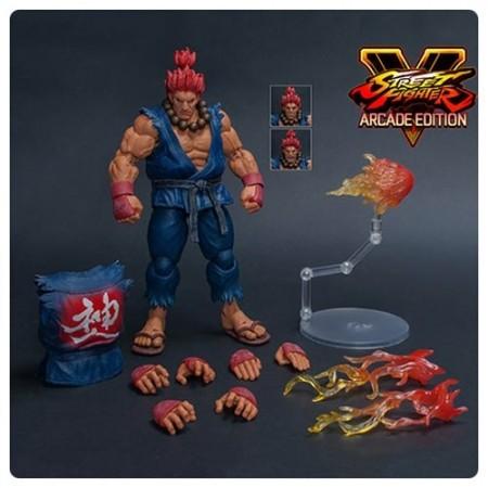 Street Fighter V Akuma Nostalgia Costume 1:12 Scale Action Figure