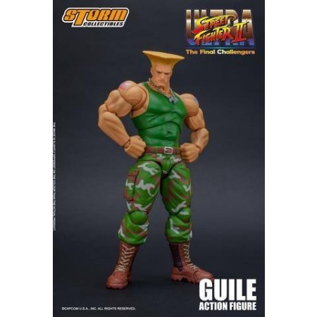 Ultra Street Fighter 2 The Final Challengers Guile Action Figure