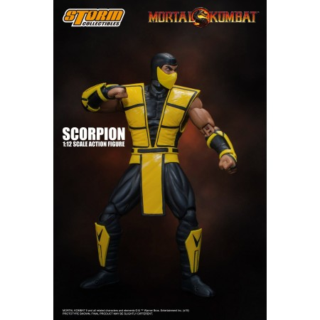 Mortal Kombat Scorpion Storm Collectibles Action Figure