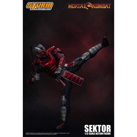 Mortal Kombat Sektor Storm Collectibles Action Figure