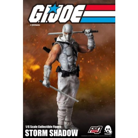 Threezero G.I. Joe Storm Shadow 1/6 Scale Figure