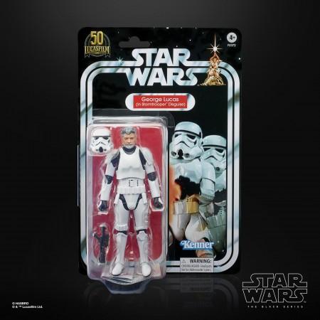 Star Wars The Black Series 50 aniversario George Lucas Stormtrooper Disfraz