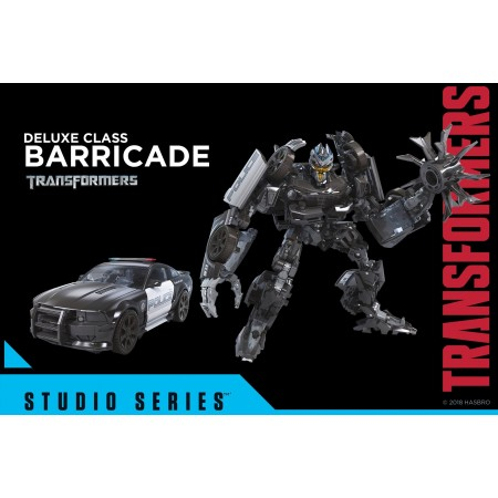 Transformers Studio Series Deluxe Barricade