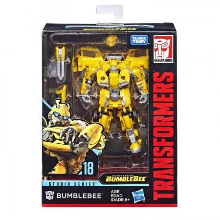 Transformadores Studio serie Movie Deluxe Bumblebee VW Escarabajo