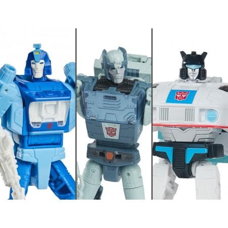 Transformers Studio Series 86 Deluxe Set of 3 Jazz Blurr & Kup