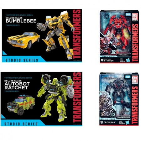 Transformers Studio Series Deluxe Wave 1 Set of 4
