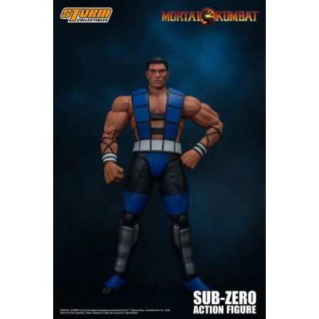 Mortal Kombat 3 VS Series Sub-Zero ( Unmasked ) Storm Collectibles Action Figure