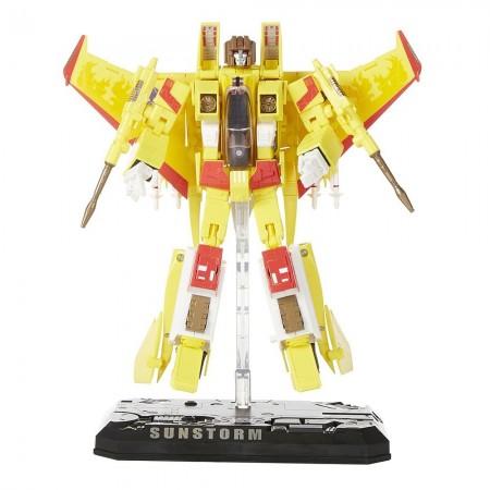 Transformers TRU Masterpiece Sunstorm NOT MINT