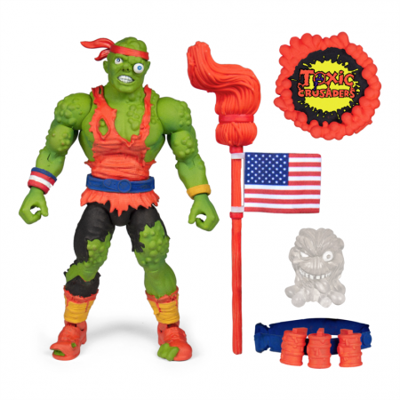 Super 7 Toxic Crusaders Toxie Deluxe Action Figure