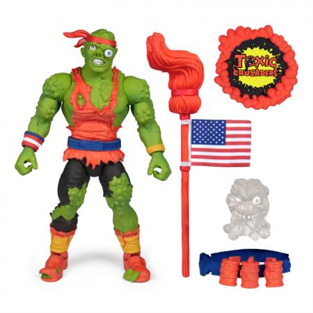 Super 7 Toxic Crusaders Toxie figura de acción de lujo