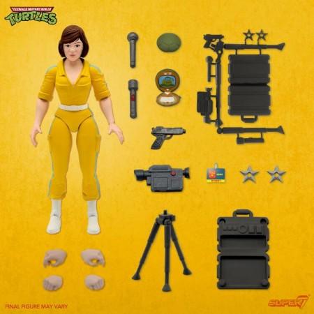 Super7 TMNT April O'Neil Teenage Mutant Ninja Turtles Action Figure