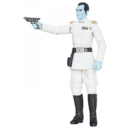Star Wars Black Series Grand Admiral Thrawn Damaged Box