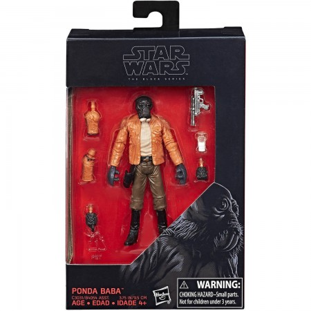 Star Wars The Black Series 3.75 Ponda Baba NOT MINT