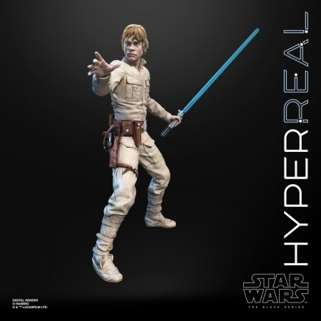 Star Wars The Black Series Hyperreal Luke Skywalker 8 Inch Figure