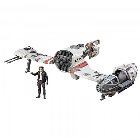 Star Wars Force Link Poe Dameron & Resistance Ski Speeder