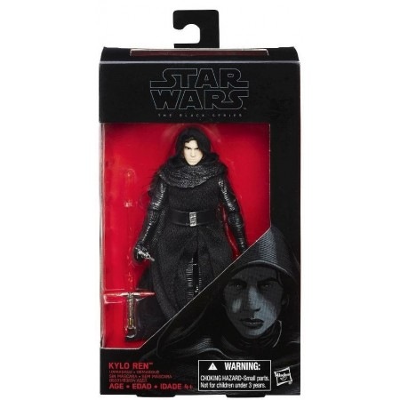Star Wars Black Series The Force Awakens Kylo Ren Unmasked