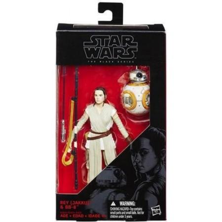 Star Wars la fuerza despierta serie negra Rey & BB8 sable variante