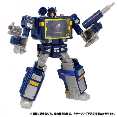 Transformers War For Cybertron WFC-14 Soundwave Takara Tomy Version