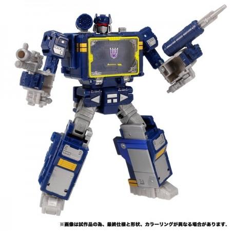 Transformers War para Cybertron WFC-14 Soundwave Takara Tomy Versión