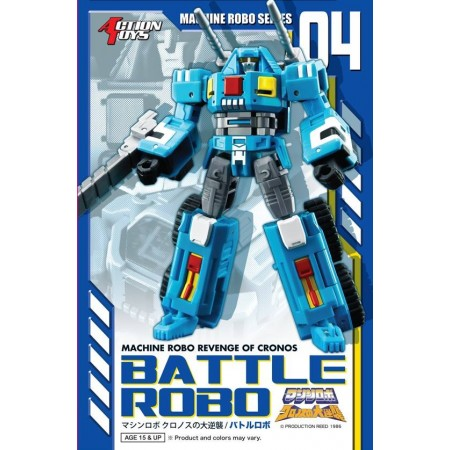 Machine Robo MR-04 Battle Robo