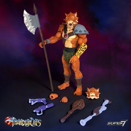 Super 7 Thundercats Ultimate Jackalman