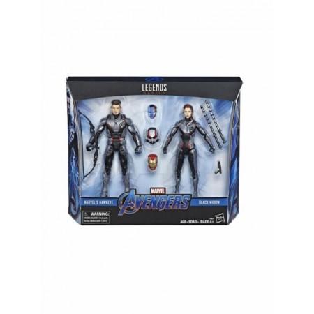 Marvel Legends Avengers Endgame Team Suit 2 Pack Hawkeye & Widow