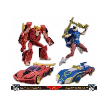 Transformers Street Fighter II Crossovers Ken Vs Chun-li