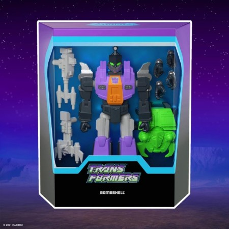 Super7 Transformers Ultimates Bombshell and Needler
