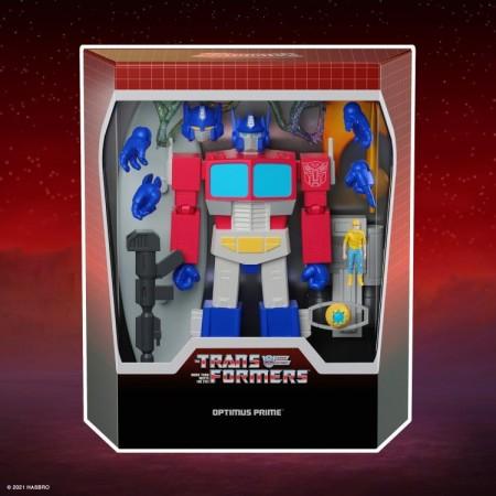 Super7 Transformers Ultimates Optimus Prime