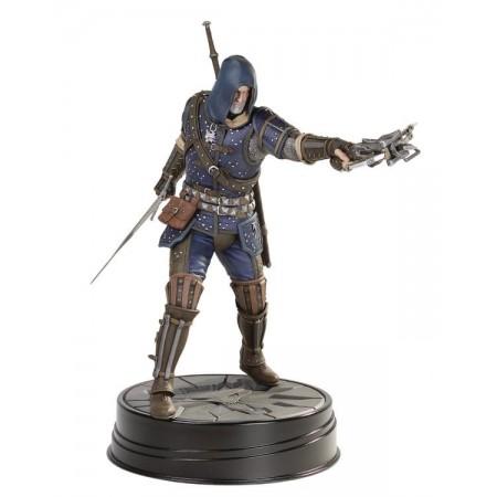 The Witcher 3 Wild Hunt Geralt Grandmaster Figura de Acción de Caballo Oscuro