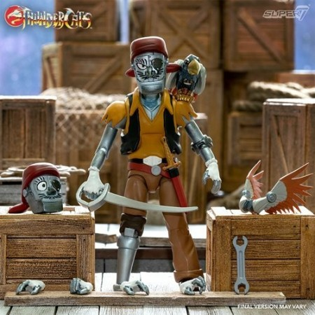 Super7 Thundercats Ultimate Captain Cracker