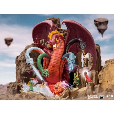Iron Studios Dungeons and Dragons Tiamat Statue