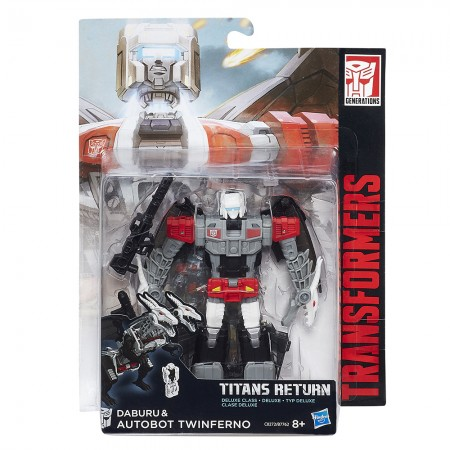 Transformers Titans Return Deluxe Twinferno