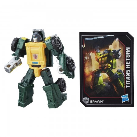 Transformers Titans Return Legends Brawn