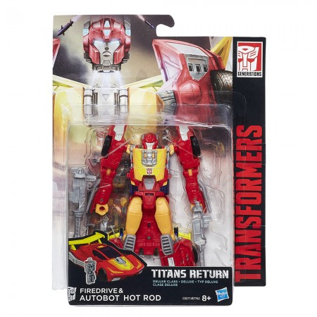 Transformers Titans Return Deluxe Hot Rod