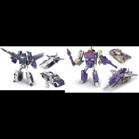 NUEVO - transformadores Titanes volver Blitzwing y octano juego de 2