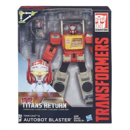 Transformers Titans Return Leader Blaster
