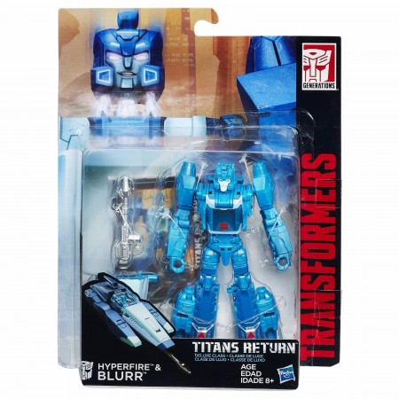 Transformers Titans Return Deluxe Blurr