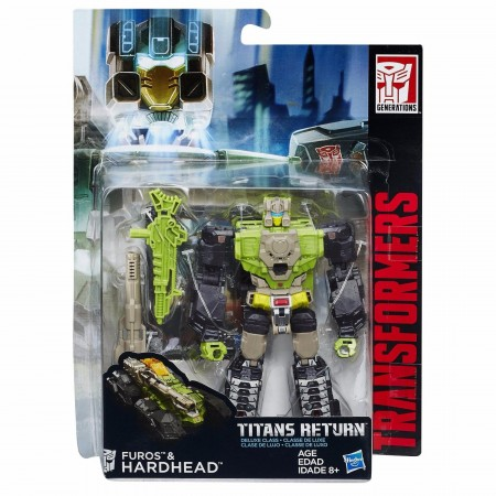 Transformers Titans Return Deluxe Hardhead