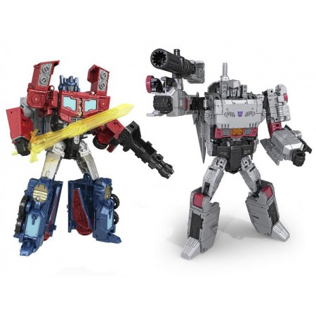 Transformers Titans Return Wave 3 Voyager Case of 2 Optimus & Megatron