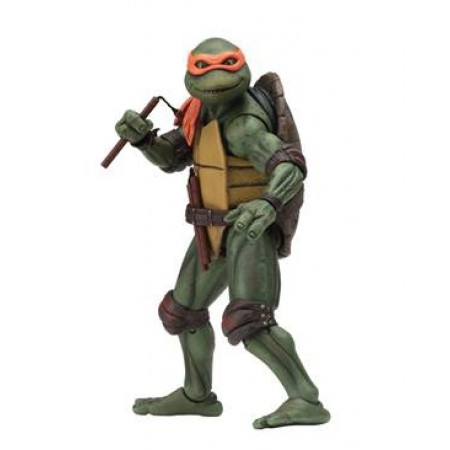 NECA TMNT Movie Star Michelangelo 7 Inch Action Figure