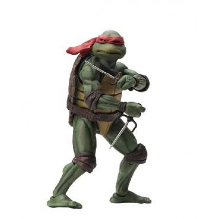 NECA TMNT Movie Star Raphael 7 Inch Action Figure