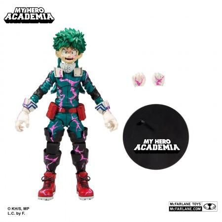 Mi héroe Academia Izuku Midoriya Quirk Variante McFarlane Figura de acción