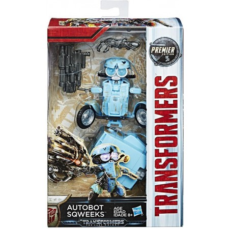 Transformers The Last Knight Deluxe Sqweeks