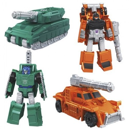 Transformers War For Cybertron Micromaster Wave 1 Set of 4