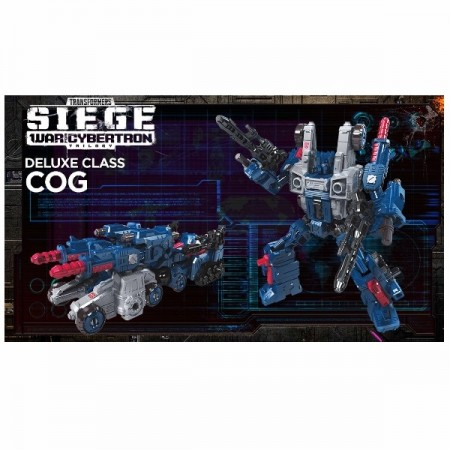 Transformers War For Cybertron Siege Deluxe Cog
