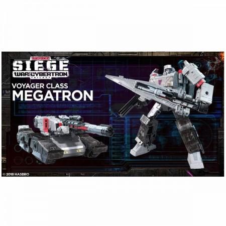 Transformers War For Cybertron Siege Voyager Megatron