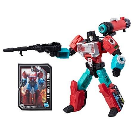 Transformers Titans Return Deluxe Perceptor