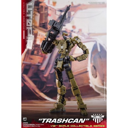 Toy Notch United States Of Utopia AFRS Type 1 Trashcan Action Figure
