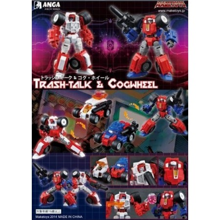 Maketoys Trash-Talk & Cogwheel